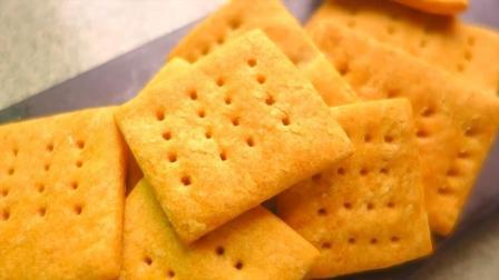 教你在家做无糖版土豆苏打饼干, 咸香酥脆, 比外面卖的一点也不差