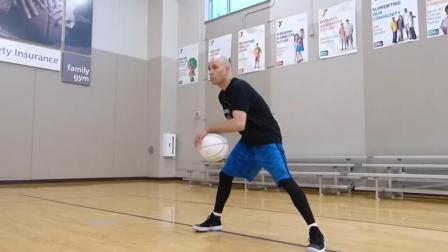 篮球课 shamgod+v字控球的高难度组合 篮球教学视频