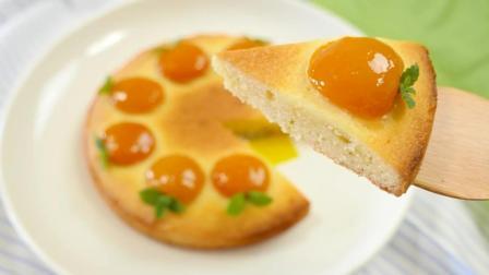 号称心情最好的橘子蛋糕, 最后切那一刀, 舒服极了!
