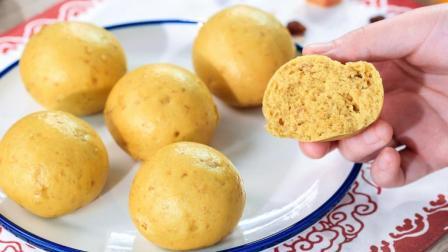 燕麦别光煮粥喝, 教你做金黄有食欲的粗粮馒头, 辅食粗细搭配, 宝宝长得壮