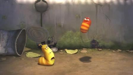 爆笑虫子动漫臭屁虫小黄: 不关我的事是你自己跳进粪坑的!