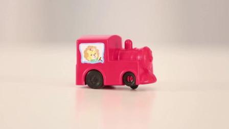 快乐可可狮玩具 第31集 游乐园轨道小车