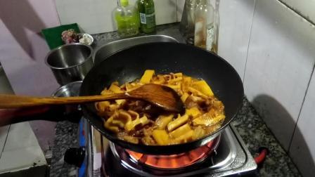 肉炒竹笋怎么做好吃0424舌尖上的美食视频