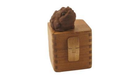 木人斋戒指盒 印章盒  制作过程 1