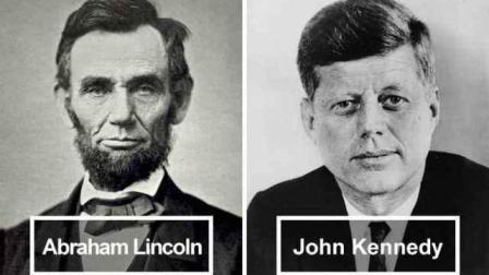 间隔百年, 林肯和肯尼迪不可思议的相似人生! 盘点世界上那些惊天离奇巧合