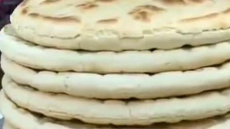 《舌尖上的中国》关中人的主食, 大的像锅盖的美食, 锅盔