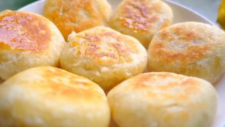 一碗面粉, 一勺白糖, 教你做又脆又香甜的糖心发面饼