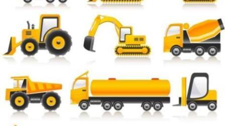 大脚车越野竞速 赛车总动员 挖掘机 推土机 吊车 大卡车 汽车总动员动画片国语版