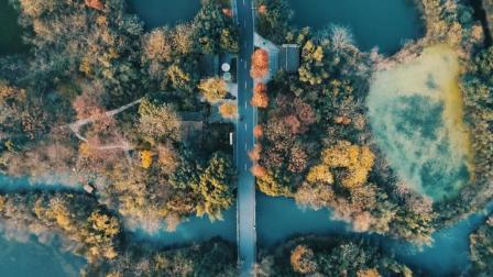 最美杭州行, 醉美西溪湿地! 航拍, 看不一样的世界!