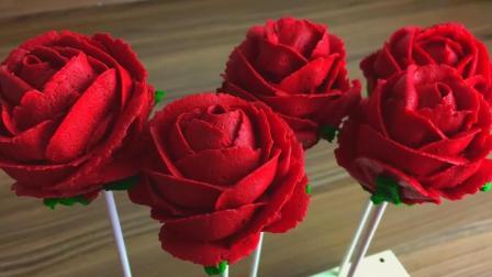 浪漫的玫瑰蛋糕制作 极简教程