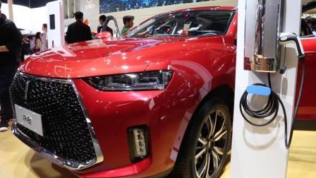 2018北京车展 WEY P8混动版正式上市