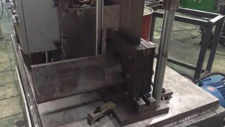 120*60规格5个厚度管材全自动切断, 不锈钢防盗网全自动方管圆管异型管冲孔切断