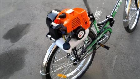 自行车改造的家庭摩托车套件