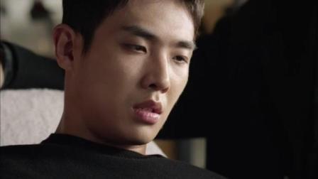 《吸血鬼侦探》抽血时, 尹山表现出了不寻常的表现
