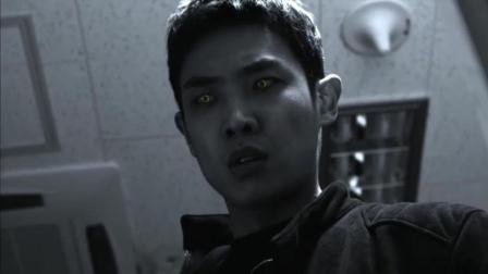 《吸血鬼侦探》尹山看见了衣柜上的血迹, 产生了联想意识