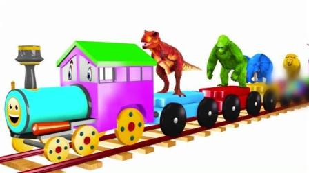 创意早教 小火车 小汽车动画学英语 小视频让婴幼儿爱上学习