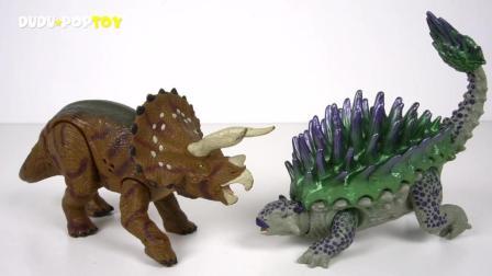 超酷的恐龙玩具游戏!
