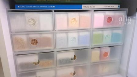 不囤个几百种颜色的米珠, 都不好意思做串珠! 圆珠和古董珠该怎么用?