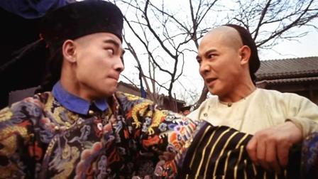 李连杰赵文卓两位武术冠军巅峰对决, 再不可能出现这么精彩动作片