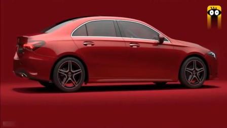 2019款奔驰A200L, 三厢版亮相北京车展, 车门打开这中控惊艳到了