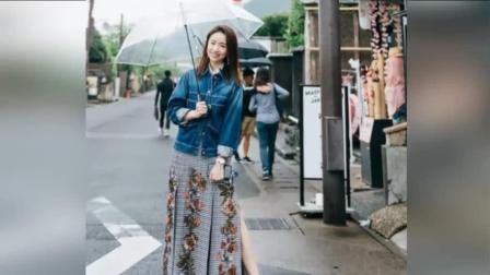 """董洁日本街头拍写真被网友偶遇, 当年的""""冷清秋"""