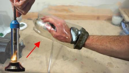 压缩空气的温度到底有多高? 看老外用手臂测试的后果就知道!
