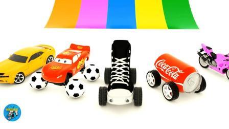 儿童玩具, 汽车自动组装, 教儿童识别颜色, 悠悠玩具城