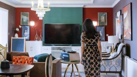 不顾老公反对, 她用大红配大绿, 把家装得美美的!