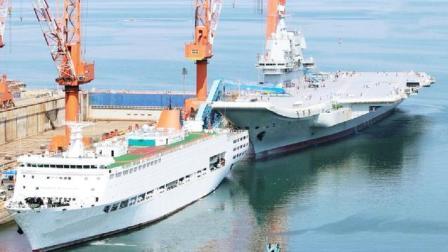 002航母引起全球注目, 印度哀叹被中国超越, 可印度人吐槽更亮眼