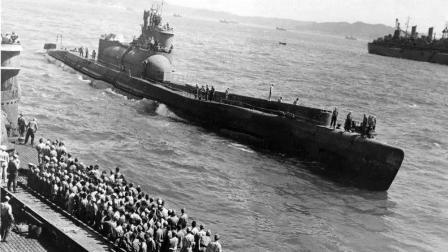 二战日本水下航母浮出水面投降, 美士兵表示从没见过这么大的潜艇