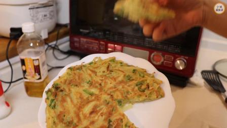 土豆丝饼的做法,超级简单的早餐,看完我也跟着做了,宝宝爱吃