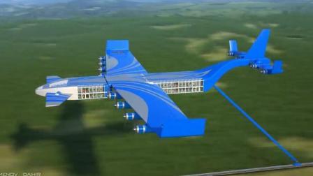 """了不起的俄罗斯: 设计发明世界首辆""""飞行""""火车, 时速500公里!"""
