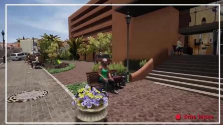 『Youtube』TML公司新巴士(经营)模拟游戏 地图展示 西班牙富埃特文图拉岛