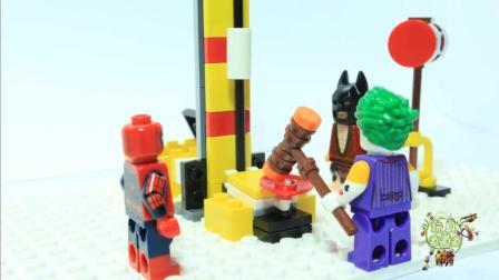 蜘蛛侠玩具宝宝和小丑比力气还是蜘蛛侠的力气比较大