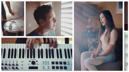 """告白氣球"" - Jay Chou (KHS, Casey Breves, & Jasmine Clarke Cover)"