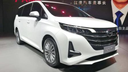 国产入门级MPV广汽传祺GM6北京车展首秀 比GM8小一号 颜值秒杀GL6