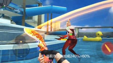 入江闪闪: CF手游-抢我刀僵尸人头的出来单挑, 不然开局35秒就能结束游戏!
