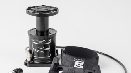 《美骑快讯》第206期 便携打气筒中的异类 用脚踩就能充气