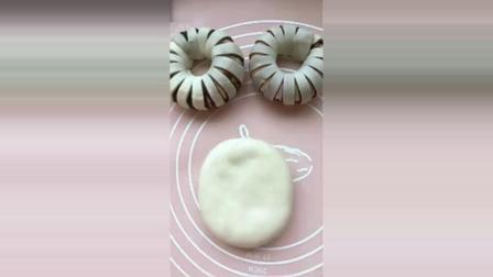 花式豆沙卷的做法, 香香甜甜, 好看又好吃!