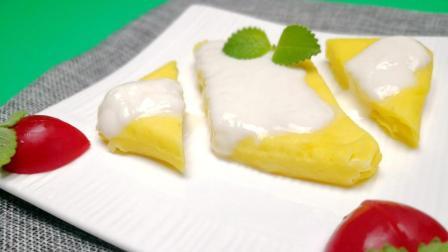 不打发鸡蛋不用黄油, 做法简单的酸奶蛋糕, 健康美味, 2分钟就能做好