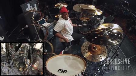 《精彩鼓SOLO》Eric Moore II - PASIC17 Drum Solo