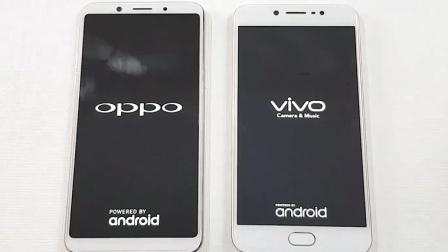 Oppo F5与 ViVo V5速度测试对比