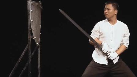 """龙泉剑无坚不摧, 亲睹""""削铁如泥"""", 事实胜于雄辩"""