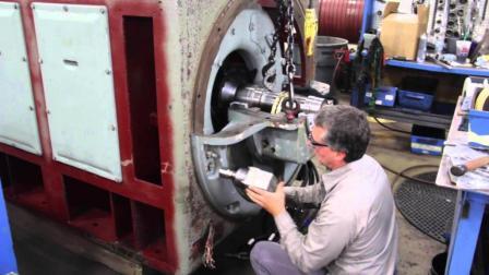 老外对待电机能修就不换, 过程超专业, 就花费比买新的还贵10倍!