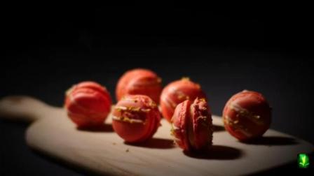 下午茶甜点-色彩缤纷, 口感丰富, 外脆内柔的法式甜点-马卡龙