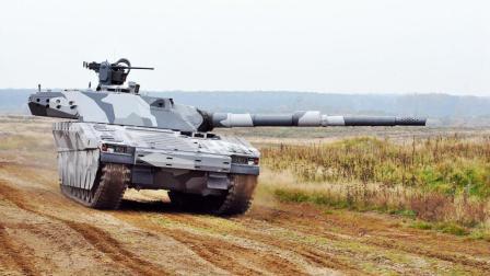 瑞典的武器脑洞真大, 这么小的车身要扛起这么大的一门火炮