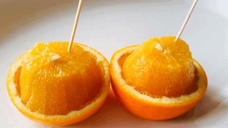 教你快速剥橙子的方法, 只要简单几步, 就能轻松搞定