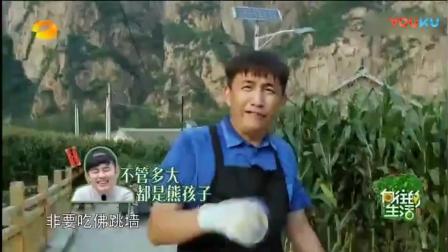《向往的生活》黄磊地里也能讲课, 何炅直接吐槽: 你回去做饭! 太搞笑了!