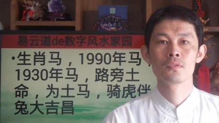 1990年的马, 属相马, 生肖马, 路旁土命, 财运方向, 感情趋势, 1990年属相是什么1990年生肖马