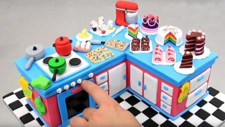 厨房翻糖蛋糕, 从烤箱到灶台各式各样的小蛋糕, 有被吸引到吗